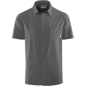 Columbia Triple Canyon Short Sleeve Shirt Men Shark Heather